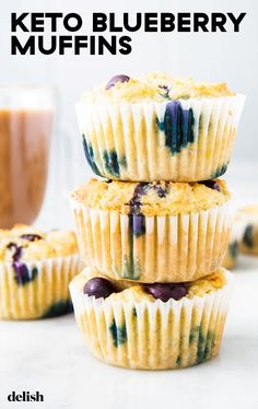Blueberry Muffins Proof that muffins on keto are totally doable. Get the recipe from .Proof that muffins on keto are totally doable. Get the recipe from . Keto Blueberry Muffins, Blue Berry Muffins, Blueberries Muffins, Blueberry Recipes With Almond Flour, Blueberry Breakfast Recipes, Almond Flour Desserts, Almond Flour Muffins, Oatmeal Muffins, Healthy Muffins