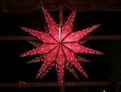 "Swedish Christmas Star ""Julstjärnor"""