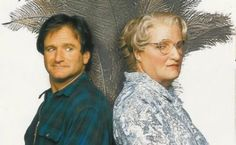 Greg Cannom did an amazing job. robbin williams isnt an easy man to turn into a woman!
