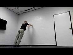 Systema Solo Practice - Wall/Shove Engagement - YouTube