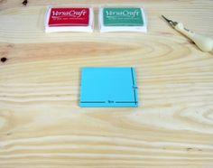 Plancha de carvado blue carving para aprender a carvar sellos, tintas y gubias en www.idoproyect.com, tu tienda online de kits y manualidades al mejor precio.