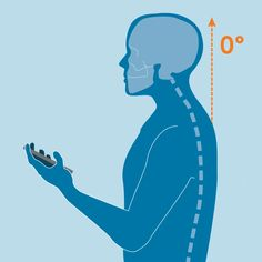 #TextNeck: How To Avoid Strains And Pains Did you know that bending your head to look at your phone can put up to 60 pounds of pressure on your #spine? 📱 A 2014 study in Surgical Technology International showed that even a 15-degree head tilt adds 27 pounds of pressure. As we use our phones and laptops more and more, that stress adds up! Hand-held devices aren't going anywhere soon — they're useful and convenient. 🤳 #posture #slouching Wellness Clinic, Chiropractic Wellness, Medical Wallpaper, Posture Exercises, Pharmacology Nursing, Neck And Shoulder Pain, Human Anatomy And Physiology, Bending, Health Education