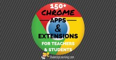 I have put together a Google Chrome App and Extension Database for Teachers that is loaded with apps and extensions for productivity and classroom integration. Google Chrome can be customized to fit the needs of our student learners. The database includes 100+ Apps and Extensions and is searchable and filterable. I do not recommend every app and extension for every teacher. Rather, use this as a guide to find what works for you, your classroom and your students. There is something in here…