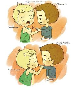 one direction cartoons | One Direction niall and liam cartoon