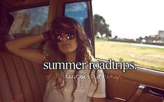 Summer roadtrips