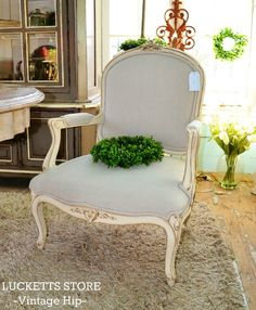 French Style Decorator Chair