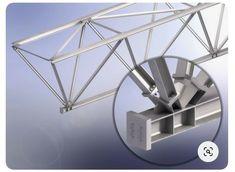 Truss Structure, Steel Structure Buildings, Building Structure, Steel Trusses, Roof Trusses, Bridge Design, Roof Design, Trailer Casa, Eco Deco