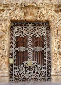 Door in Valencia, Spain