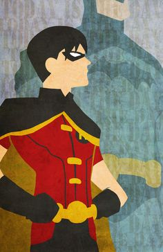 Robin and Batman because they are awesome!