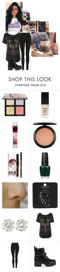 """""""Makeup i loved in 2017 video // 22 December 2017"""" by fuckmeirwin ❤ liked on Polyvore featuring Huda Beauty, Stila, ULTA, MAC Cosmetics, OPI and Topshop"""