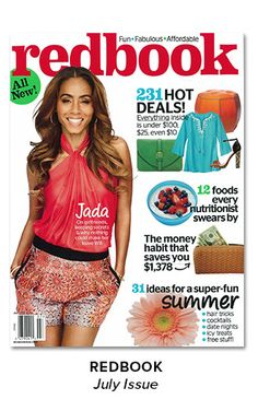 As Seen In - REDBOOK, July Issue