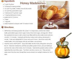 medové majdalenky