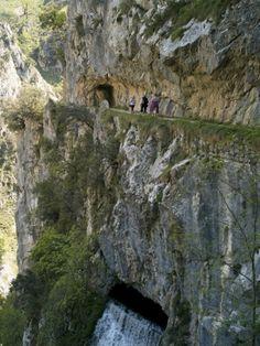 Picos De Europa Spain | ... Cares Gorge Footpath, Picos De Europa, Castilla Y Leon, Spain, Europe
