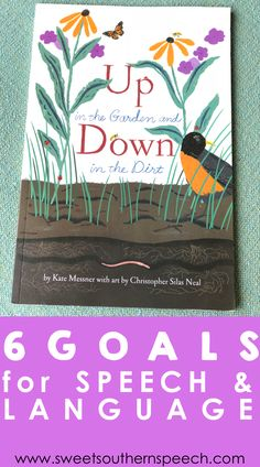 How I target 6 language goals in speech therapy with this book! Includes a free download