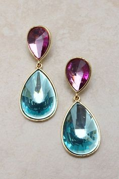 emma stine jewelry | Andrea Teardrop Earrings | Emma Stine Jewelry Set