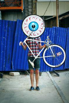eye see you #fixedgear