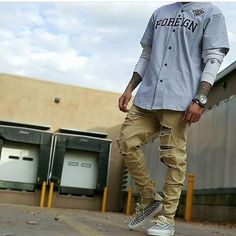 ** Streetwear daily - - - Click this picture to check out our clothing label ** Swag Outfits, Casual Outfits, Fashion Outfits, Baseball Jersey Outfit, Baby Baseball, Baseball Quotes, Urban Fashion, Mens Fashion, Moda Blog