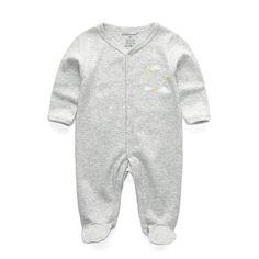 24214fb9039e Cartoon Full Sleeve Rompers. Newborn BoysNewborn Boy ClothesBaby ...