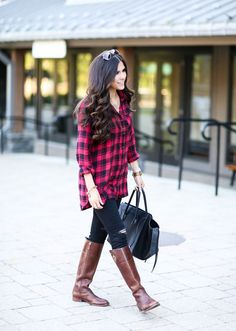 Fall Must-Have.. Oversized Plaid