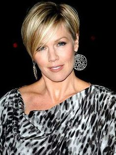 Highlighted Long Pixie Cut
