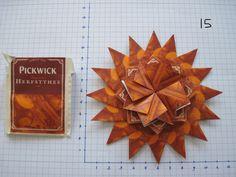 3 laags gemaakt van 32 theezakjes Pickwick herfstthee