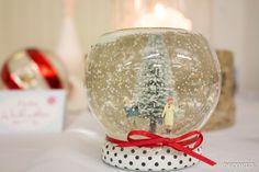 Shake it, Baby! Kunstschnee, Tannen und Mini-Figuren - das braucht man für eine niedliche Schneekugel. Den kompletten Bastel-Tipp findest Du auf www.noch-kreativ.de