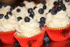 Blueberry Hill Cupcakes by SweetSters