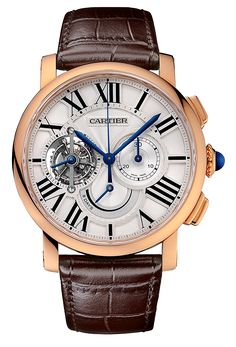 Cartier Rotonde de Cartier Tourbillon Chronograph Watch - Copy