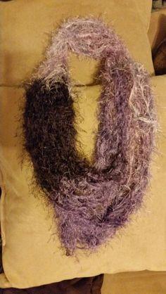 Fuzzy purples!