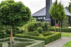 Hard to believe that this magnificent house and garden, located in the Wairarapa region of New Zealand, owned by New Zealand landscape designer, Lyn Eglinton, was nothing but a bare paddock in Landscaping Software, Garden Landscaping, Formal Gardens, Outdoor Gardens, Beautiful Interiors, Beautiful Gardens, Landscape Design, Garden Design, Garden News
