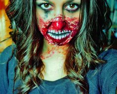 SFX, Zombie, Makeup, Creepy, Scary, Halloween, Easy, Liquid Latex - Jessica Rembish - ohsojess