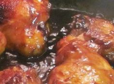 Honey-Soy-Ginger Chicken Thighs