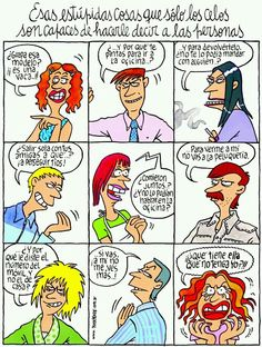 Spanish Phrases, Spanish Humor, Funny Scenes, Humor Grafico, I Can Relate, Im Happy, Comics, Inspirational, Random