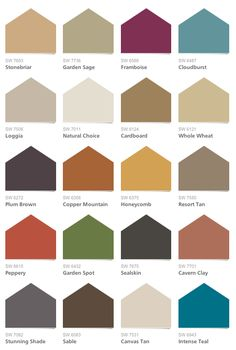 Sherwin Williams - Global Spice Collection