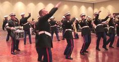 """On the 238th birthday of the United States Marine Corps, these Marines put on a special show for everyone to celebrate. When Corporal Eric Fisher rewrote the lyrics to """"Thrift Shop,"""" and """"Can't Hold Us,"""" with the aid of  Sergeant Justin Lienemann, they had the whole audience loving i.."""