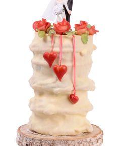 Eine Baumkuchen-Hochzeitstorte ist eine interessante Alternative...