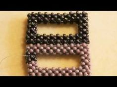 ▶ Cubic Right Angle Weave - how to create shapes - YouTube
