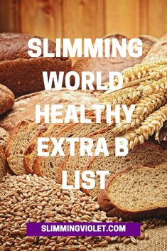 Slimming World Healthy Extra B List Printable astuce recette minceur girl world world recipes world snacks Slimming World Healthy Extras, Slimming World Syns List, Slimming World Shopping List, Slimming World Syn Values, Slimming World Dinners, Slimming World Breakfast, Slimming World Recipes Syn Free, Slimming World Plan, Slimming Eats