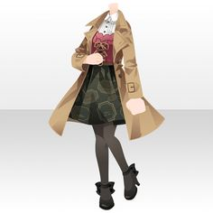 SWEET CANDY LOVE|@games -アットゲームズ- Drawing Anime Clothes, Dress Drawing, Anime Outfits, Cool Outfits, Fashion Outfits, Clothing Sketches, Fashion Sketches, Pelo Anime, Chibi Hair