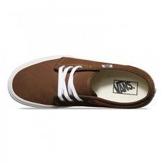Vans 106 Vulcanized Shoes (Vintage) Dark Earth/Blanc
