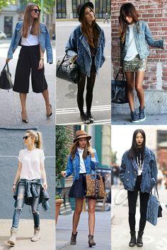 A volta da jaqueta jeans | Sutileza Feminina