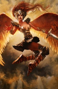 Day 1 Grand Prix Philadelphia Coverage : Daily MTG : Magic: The Gathering Angel Warrior, Fantasy Warrior, Fantasy Girl, Fantasy Women, Character Inspiration, Character Art, Character Design, Magic The Gathering, Fantasy Characters