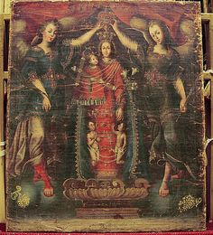 Nuestra Senora de los Desampardos  Medium: Oil on canvas (relined) Classification: Paintings