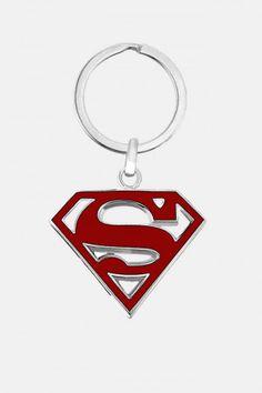 Llavero de Superman DC Comics en Rojo. Si quieres ver mas accesorios de #DCcomics, checa nuestro link donde tenemos los mejores modelos listos para ti con envíos a todo #Mexico.