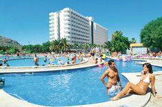 Club Mac Alcudia is een waar vakantieparadijs onder de Spaanse zon! Het hotel bestaat uit 3 gebouwen (Jupiter, Marte en Saturno) en is prachtig ruim opgezet met uitgebreide en professionele faciliteiten. U verblijft in Club Mac Alcudia op basis van all inclusive. Bij een verblijf in het complex heeft u tevens gratis toegang tot het naastgelegen waterpark Hidropark dat garant staat voor vele uren spetterplezier! Officiële categorie ***