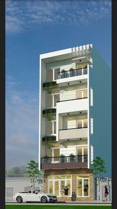Building Elevation, House Elevation, Building Facade, Building Design, Single Floor House Design, House Front Design, Modern House Design, Facade Architecture, Residential Architecture