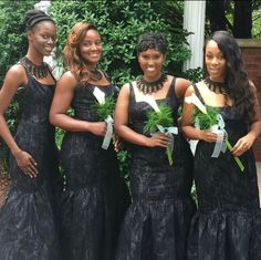 This Bridal Party looks fabulous in our Curtain Call Necklace!!!!  Order yours at www.tracilynnjewelry.net/elainasmith   #jewelryforalloccasions #black #elegant #elegance #lotd #glam #chic