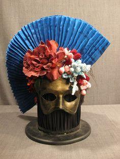 Mask Headdress Headgear, Headdress, Masquerade, Costumes, Headpieces, Hats, Tech, Holidays, Inspiration