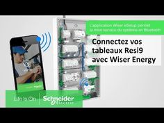 Tutoriel Resi9 - Connectez facilement vos tableaux avec Wiser Energy | Schneider Electric France #InfoWebEnvironnement Visualisation, Magazine Rack, Environment