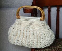 supercute crocheted purse! #crochet #purse #bag